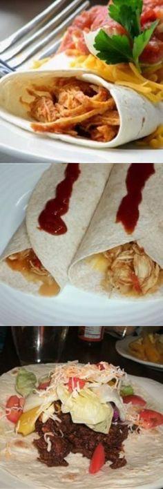Salsa Chicken Burrito Filling Healthy Recipes - chicken, healthy, recipes, salsa