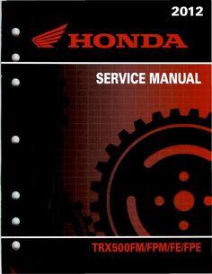 honda foreman 400 service manual download