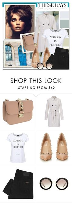 """""""Dead Legacy: These Days"""" by dead-legacy ❤ liked on Polyvore featuring moda, Valentino, Marella, Dead Legacy, Nudie Jeans Co., Miu Miu, women's clothing, women, female ve woman"""
