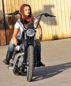 So Far Over Real Biker Babe, Biker Event, Motorcycle and incred. So Far Over Real Biker Babe, Biker Event, Motorcycle and incredible photos of Professional models p Lady Biker, Biker Girl, Ghost Rider, Chopper Cruiser, Harley Davidson, Motard Sexy, Women Riding Motorcycles, Vintage Motorcycles, Chicks On Bikes
