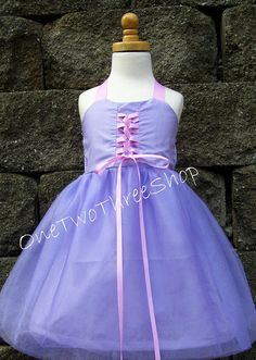 Custom Boutique Clothing  Rapunzel Inspired Sassy Girl by amacim, $39.99