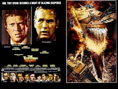 """Hill Place: Steve McQueen is a cooler cat than Paul Newman in """"The Towering Inferno"""""""
