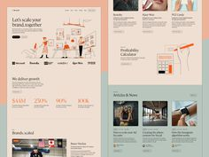 Lilo Social Website Look & Feel by pedro et Create Your Character, Ui Design Inspiration, User Interface Design, App Design, Website, Feelings, Instagram, Landing, Hero