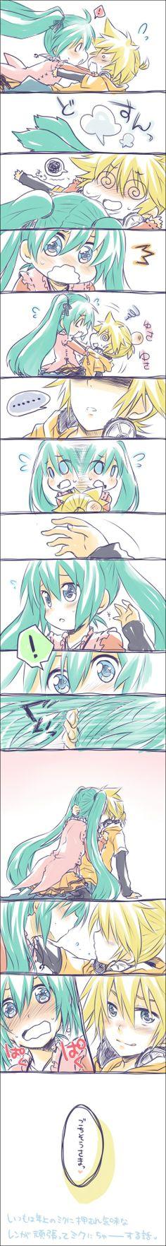 Vokaloid - Len x Miku - Comic
