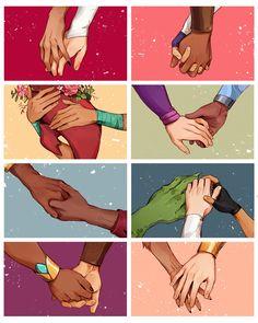 Couple Hands, Anime Version, She Ra Princess Of Power, Character Design Animation, Film Serie, Dreamworks, Fandoms, Fan Art, My Love