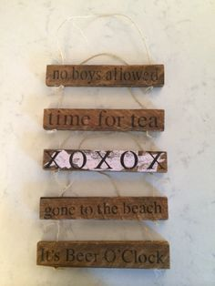 These are just in! These adorable little signs are a great decorative accent! Available at Endless Ideas Interiors #EndlessIdeas