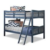 Found it at AllModern - Caribou Twin over Twin Bunk Bed with Ladder