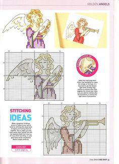 Gallery.ru / Photo # 25 - Cross Stitch Card Shop 57 - WhiteAngel Angels