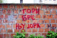 GORI BRE NJUJORK #BeogradskiGrafiti #StreetArt #Graffiti #Beograd #Belgrade #Grafiti