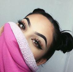 Image de makeup, eyebrows, and hair Gorgeous Makeup, Love Makeup, Makeup Art, Beauty Makeup, Makeup Looks, Hair Makeup, Hair Beauty, Makeup Ideas, Makeup Inspo