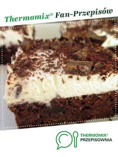 Murzynek pod pierzynką jest to przepis stworzony przez użytkownika SGosia. Ten przepis na Thermomix<sup>®</sup> znajdziesz w kategorii Słodkie wypieki na www.przepisownia.pl, społeczności Thermomix<sup>®</sup>. Food Cakes, Sweet Cakes, Tiramisu, Cake Recipes, Ethnic Recipes, Impreza, Thermomix, Cakes, Dump Cake Recipes