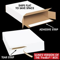Ups Box Sizes, Flat Rate Shipping Boxes in Stock - ULINE: $2 each