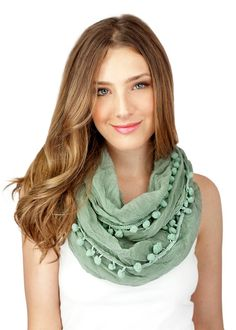 MINT infinity scarf MORE COLORS extra chunky by gertiebaxter, $29.50
