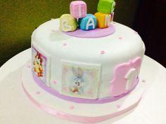 #torta #looneytoones #baby #esenciasdelila #cake