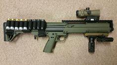 Yeah KSG shotgun, home defense, guns, 12gauge, tactical, light weight ammo holder