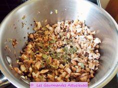 Pour une recette vegan de brunoise de champignons, c'est ici ->