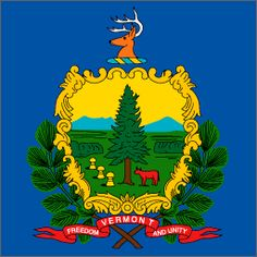 [Are those branches forming an X under O= XO?] Vermont - Capital Montpelier - Nickname The Green Mountain State Us States Flags, U.s. States, United States, American Dating Sites, Beautiful Sites, Beautiful Things, State Mottos, New England States, Travel Log