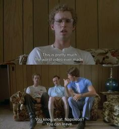 """Napoleon Dynamite, best movie ever! Other good part in this scene is when uncle rico touches kips knee and says """"check this out"""" its soooo funny! Funny Movies, Great Movies, 90s Movies, Awesome Movies, Napoleon Dynamite Quotes, Film Quotes, Funny Quotes, Qoutes, Favorite Movie Quotes"""