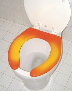 What I am going to share now might sound wild but is true. Whilst we make ourselves comfortable relieving ourselves on a used toilet. Thermochromic Paint, Smart Materials, New Product, Product Launch, Wearable Technology, Surface Design, Color Change, Toilet, Awesome Stuff