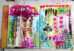 """""""Every Life Has a Story!"""" - {Roben-Marie Smith} - Art Journal MusicalChairs..."""