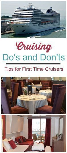 We've put together a list of cruising do's & don'ts to help make your cruise a success. These first time cruise tips start even before you set sail.