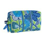 Medium cosmetic- great size for multiple uses- pen & pencil bag, make up,