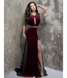 платье-бархатное-модный-тренд