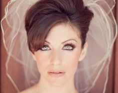 20 Short Hairstyles for Brides