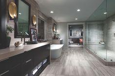 Modern Luxury Bathroom, Luxury Master Bathrooms, Bathroom Design Luxury, Bath Design, Beautiful Bathrooms, Nest Design, Master Baths, Master Room, Techno