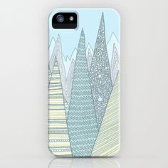 Summer Mountains iPhone Case by Anita Ivancenko - $35.00