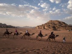 Photo by Muhammed Muheisen Valley Of The Moon, Deserts Of The World, National Geographic Travel, Wadi Rum, Climate Change Effects, Vancouver Island, Travel Goals, Camel, Adventure