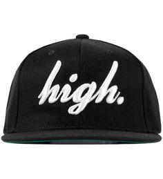 ODD FUTURE  Black Domo High Cap