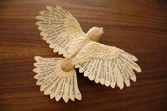 Some bird sculptures from Zack Mclaughlin at http://www.zackmclaughlin.com/