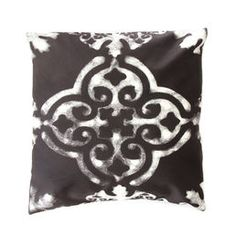 Jaida - decor pillow cover, black