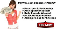 Passiveincome with paywao
