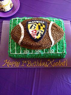 BAltimore Ravens football cake - Google Search