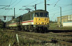 86221 seen at Ipswich working a London bound train on Copyright Ian Cuthbertson Electric Locomotive, Diesel Locomotive, Railroad Pictures, Train Art, Electric Train, British Rail, Great Britain, Transportation, London