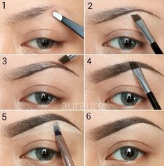 Filling In Eyebrows #Musely #Tip