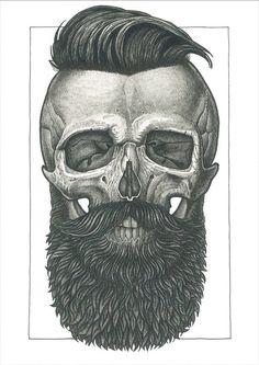 Hipster skull??