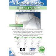 AllerSoft Mattress Protectors - Organic Cotton - King 16 inch depth $194.99
