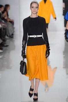 Michael Kors Fall 2013: Fresh full skirt styling. LOVE the shoes.