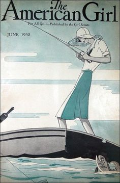 June 1930 American Girl Magazine cover
