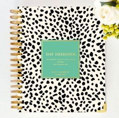 Now that my Whitney English Day Designer has arrived I cannot WAIT to get ready for Plan, Create, Dream. All things to look forward to in the new year. Diy Notebook, Notebook Design, Day Designer Planner, Whitney English, English Day, Office With A View, Monthly Planner, 2015 Planner, School Supplies