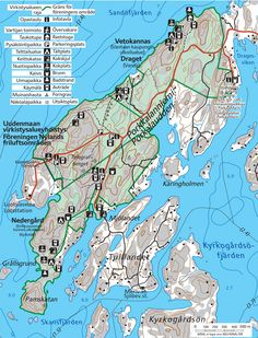 My World, Finland, Hiking, Map, Vacation, Walks, Vacations, Location Map, Maps