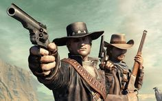 Download Wallpaper ray western colt call of juarez call of juarez bound in blood winchester -583975-14