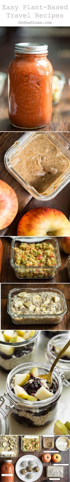 How To Pack Food For A Weekend Away In An Hour! (Plant-Based) — Great tips from Oh She Glows