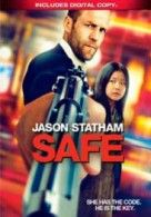 Jason Statham does indeed play it safe in Safe, beating up bad guys and firing guns and barely changing the expression on his face, just as he's done countless times before. But the movie director Boaz Yakin constructs around him turns out, quite surprisingly, to be far better than standard issue Statham. http://thevideostation.com/blog/2012/09/06/safe-reviewed-by-david/#
