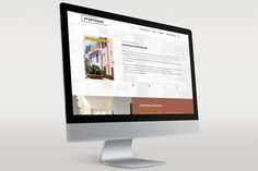 Stadthausportocolom Responsive Webseite #pixelgif #webdesign #screendesign #grafikdesign PIXELGIF Design und Marketing Referenz www.pixelgif.de