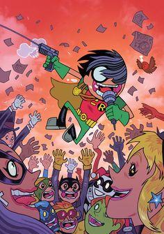 Teen Titans Go! #7 Cover Design by Dan Hipp