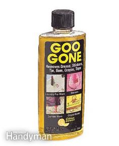 Interior Car Cleaning. Goo gone. Must find this stuff.